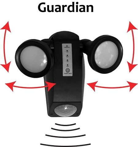 The Guardian Solar Security Light